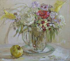 The artist Marina Podgaevskaya: picture